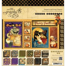 Graphic 45 Happy Haunting 8X8