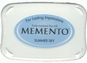 Memento Summer Sky Dye Ink