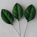 WOC Green Rose Leaves 1.5 in LL-00021