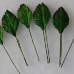 WOC Green Rose Leaves .625 in. LL-00015