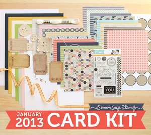 Simon Says Stamp Jan 2013 kit